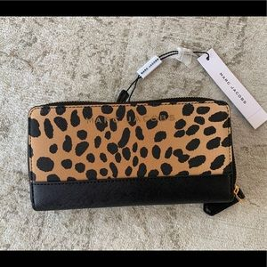Marc Jacobs Leopard Wallet NWT